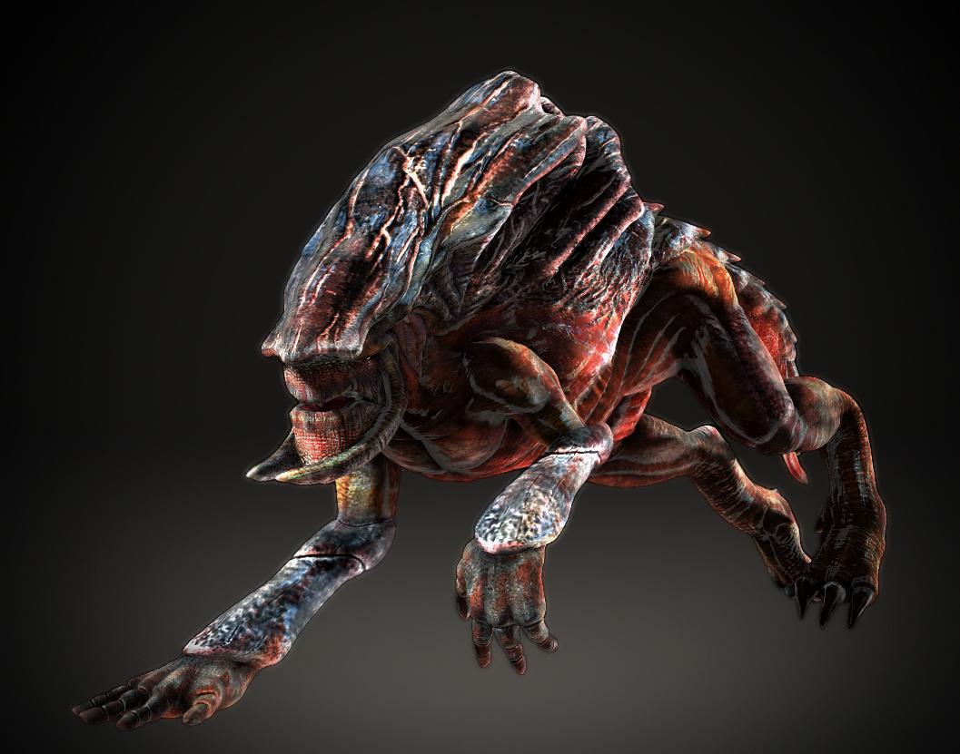 Alien lizard